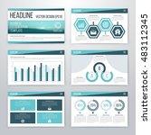 infographics presentation... | Shutterstock .eps vector #483112345