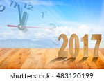 new year 2017 | Shutterstock . vector #483120199
