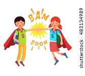 Heroes Super School Students...