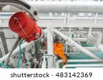 fire and gas detection system... | Shutterstock . vector #483142369