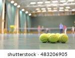 Some Tennis Balls On Tennis...