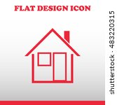 home icon. web vector design
