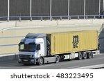 frankfurt germany   april 24 ...   Shutterstock . vector #483223495