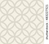 islamic geometrical pattern.... | Shutterstock .eps vector #483227521