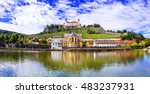 authentic beautiful towns of... | Shutterstock . vector #483237931