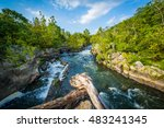 Rapids In The Potomac River At...