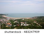 qingdao beach located at mt... | Shutterstock . vector #483247909