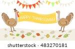 vector illustration in hand... | Shutterstock .eps vector #483270181