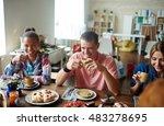 get together | Shutterstock . vector #483278695