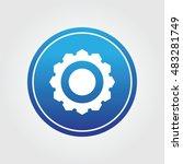 cog wheel icon button for...