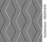 vector seamless texture. modern ... | Shutterstock .eps vector #483291655