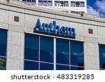 indianapolis   circa september... | Shutterstock . vector #483319285