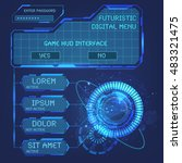 set ui hud elements for cyber...