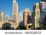 sao paulo downtown landmark  ... | Shutterstock . vector #483328525