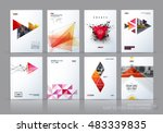 brochure template layout  cover ... | Shutterstock .eps vector #483339835