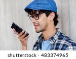 leisure  technology ... | Shutterstock . vector #483374965