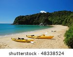 Kayaking In Abel Tasman...