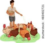 Illustration Of A Farm Boy...