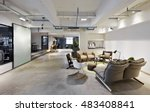 fashion and modern office... | Shutterstock . vector #483408841