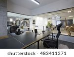 fashion and modern office... | Shutterstock . vector #483411271