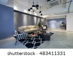 fashion and modern office... | Shutterstock . vector #483411331