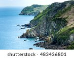 Cliffs On The Island Of Jersey...