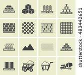 building materials  | Shutterstock .eps vector #483442651