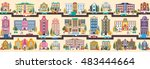 set stock vector illustration...   Shutterstock .eps vector #483444664