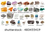 Various Raw Gemstones And...