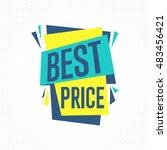 sale badge  raster in flat... | Shutterstock . vector #483456421