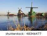 Windmills Of The Zaanse Schans...