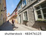 tallinn  estonia   may 2  2016  ... | Shutterstock . vector #483476125