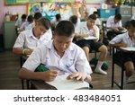 bangprok pathumtani thailand... | Shutterstock . vector #483484051