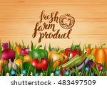 photo realistic vector... | Shutterstock .eps vector #483497509