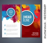 brochure template layout  cover ... | Shutterstock .eps vector #483500689