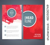 brochure template layout  cover ... | Shutterstock .eps vector #483500749