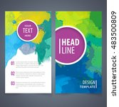 brochure template layout  cover ... | Shutterstock .eps vector #483500809