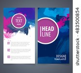 brochure template layout  cover ... | Shutterstock .eps vector #483500854