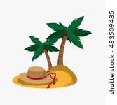 travel related icons  | Shutterstock .eps vector #483509485