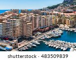 Panoramic View Of Fontvieille ...