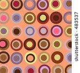 warm circles wallpaper | Shutterstock . vector #483537