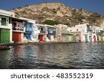 klima  greece august 05  2016 ... | Shutterstock . vector #483552319