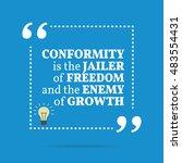 inspirational motivational... | Shutterstock . vector #483554431