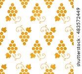 gold textured seamless pattern... | Shutterstock .eps vector #483572449