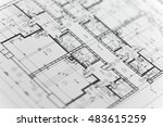 focus on a ground floor | Shutterstock . vector #483615259