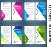 layout design brochure template ... | Shutterstock .eps vector #483637351