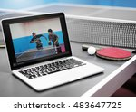 Small photo of Table Tennis Ping Pong Replay Athlete Amateur Concept
