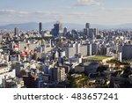 umeda  osaka  japan  18th... | Shutterstock . vector #483657241