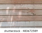 wall wood for background  ... | Shutterstock . vector #483672589