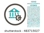 euro bank settings rounded... | Shutterstock .eps vector #483715027
